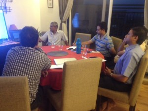Interaction with Ashok
