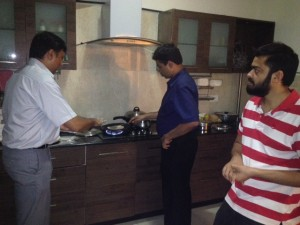 Team Work - Cooking